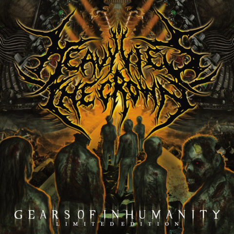 Heavy Lies The Crown ‎– Gears Of Inhumanity